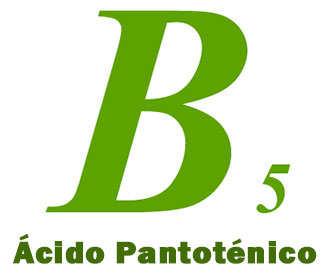 vitamina b5 pantotenico