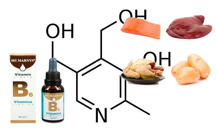 Para qué sirve la vitamina B6