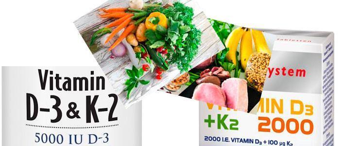 Vitamina D3 con K2