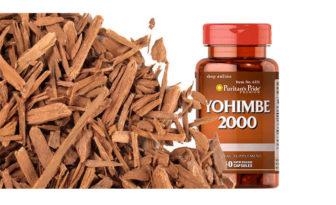 Cápsulas de yohimbe para mujeres
