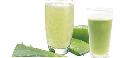 Cómo hacer y tomar el zumo de aloe vera