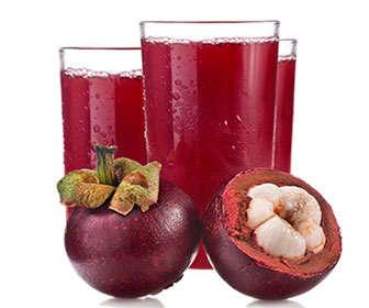 zumo de mangostan